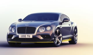 Bently Continental Breitling - front