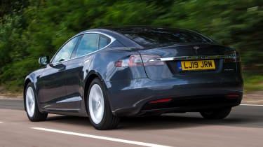 Tesla Model S - rear tracking