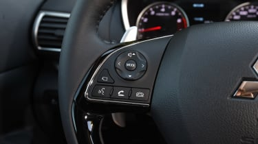 Mitsubishi Eclipse Cross - steering wheel detail