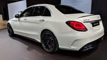 Mercedes-AMG C 63 - New York rear
