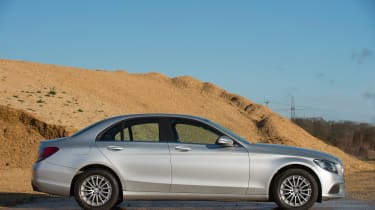 Used Mercedes C-Class Mk4 - side