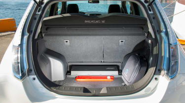 Used Nissan Leaf - boot open