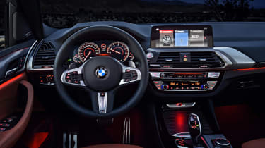 BMW X3 - dash night