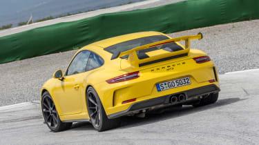Porsche 911 GT3 - rear track