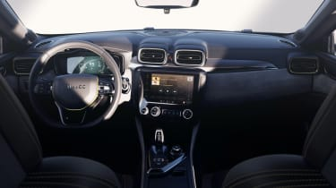 lynk and Co 03 concept saloon car cabin