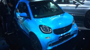Smart EQ ForTwo Cabrio - Geneva front