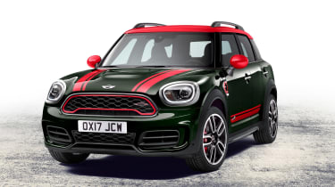 MINI JCW Countryman - front