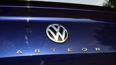 Volkswagen Arteon review - boot badge
