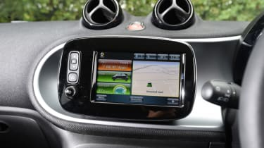 Smart ForFour ED - screen