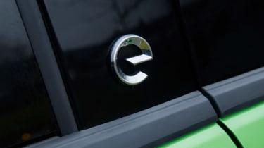 Vauxhall Mokka-e - e badge