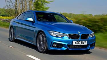 BMW 420d M Sport - front