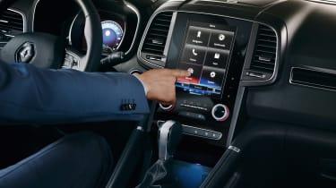 Renault Koleos - touchscreen