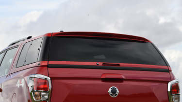 SsangYong Musso long term review - hood
