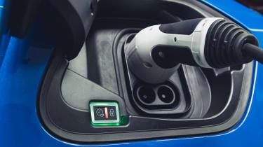 Vauxhall Corsa-e - charging