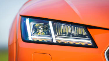 Audi TT Coupe - headlight