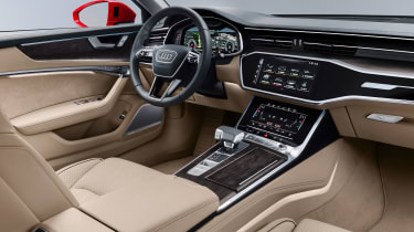 New Audi A6 - cabin