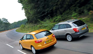 Seat Ibiza ST vs. Skoda Fabia Scout