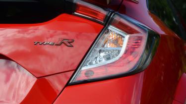 UK Honda Civic Type R 2017 - tail light