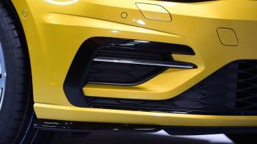 New 2017 Volkswagen Golf reveal - front detail