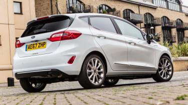 Ford Fiesta Vignale - rear quarter static