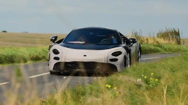 McLaren 650S replacement - spyshot front action