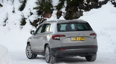 Skoda Karoq road trip - rear
