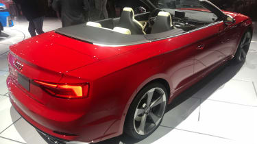 Audi S5 Cabriolet - show rear