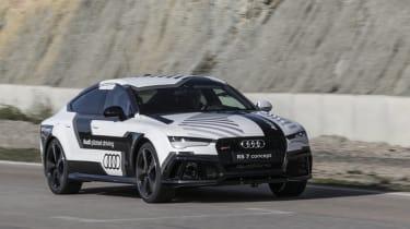 Project M feature - Autonomous Audi RS7