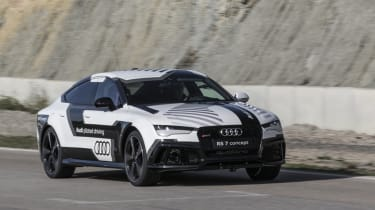 Project M feature - Autonomous Audi RS7