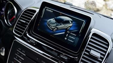 Mercedes GLE 2015 screen