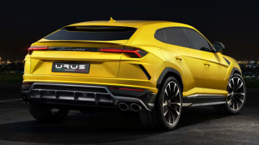 Lamborghini Urus - rear quarter