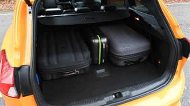 Ford Focus ST Estate: long-term test review  - first report - luggage in boot