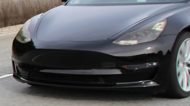 Tesla Model 3 spy shots grille