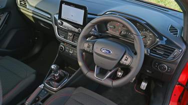 Ford Fiesta Sport Van dashboard