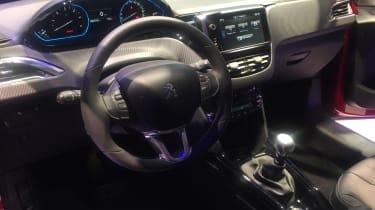 Peugeot 2008 Geneva - interior