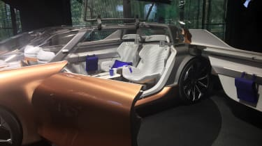 Renault Symbioz concept - Frankfurt interior 2