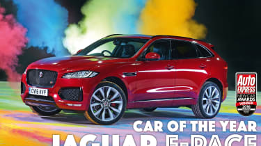 New Car Awards 2016: Car of the Year - Jaguar F-Pace