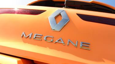 Renault Megane RS - Megane badge