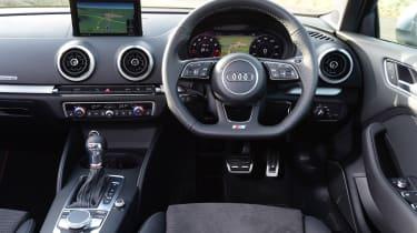 Audi S3 saloon 2017 - interior