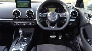 Audi S3 saloon 2017 - interior