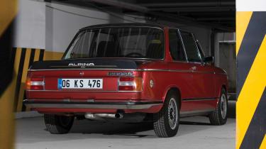 RM Sotheby's 2017 Paris auction - 1974 BMW 2002 Tii Alpina rear