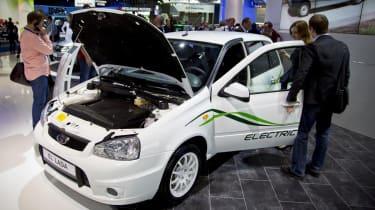 Lada El electric car