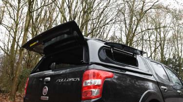 Fiat Fullback - rear tailgate