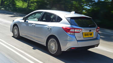 Subaru Impreza - rear