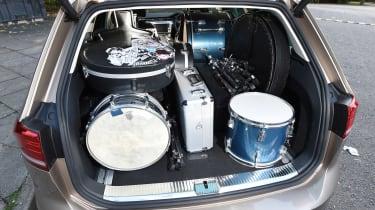 Long-term test review Volkswagen Passat Estate - boot loaded