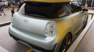 2019 MINI Electric Concept Goodwood rear