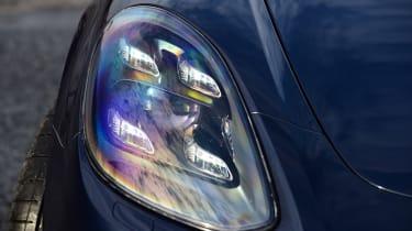 Porsche Panamera - front light detail