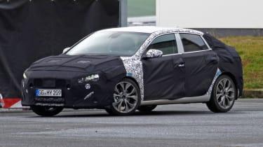 Hyundai i30 fastback front quarter