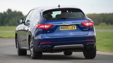 Maserati Levante - rear cornering