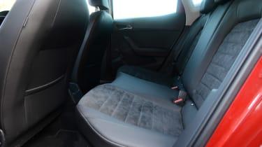 SEAT Ibiza - rear seats